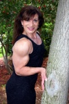 Girl with muscle - Tina Zampa