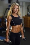 Girl with muscle - eva linda karlsson