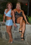 Girl with muscle - Pam Shealy & Tami Tucker
