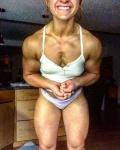 Girl with muscle - Kristina stodulski