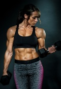 Girl with muscle - Tammy York