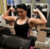 Girl with muscle - senja