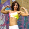 Girl with muscle - Mandy Jackson