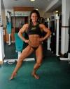 Girl with muscle - Christalou Cornick