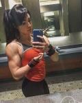 Girl with muscle - Bailey Shey Morris