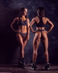 Girl with muscle - Natalia Zabavina