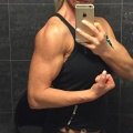 Girl with muscle - Nina Nordin