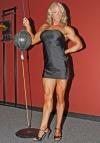 Girl with muscle - Christina Thomas