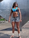 Girl with muscle - Negra Sim