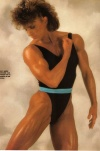Girl with muscle - Diana Dennis