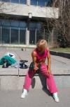 Girl with muscle - Yaroslava Nikolaeva