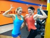 Girl with muscle - Hope Trask (l), Candice Keene (r)