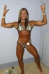Girl with muscle - Theresa Evans