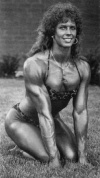 Girl with muscle - Peggy Bertelsen