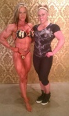 Girl with muscle - Zoa Lindsey (L) - Tara Suzanne (R)