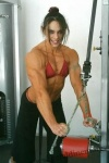 Girl with muscle - Geraldine Morgan