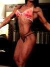 Girl with muscle - Anita Vegh