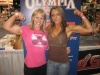 Girl with muscle - Wendy Lindquist (L) / Kisha Wilson (R)