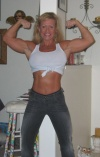 Girl with muscle - Tricia Travis