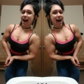 Girl with muscle - Dianna Merica