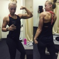 Girl with muscle - Taylor rochelle