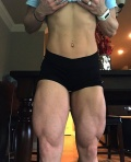 Girl with muscle - Tiffani Hebert
