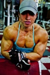 Girl with muscle - Virginia Sanchez