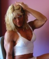 Girl with muscle - Christiane Lamy