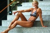 Girl with muscle - Fitness