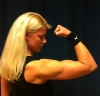 Girl with muscle - Maria Johansson