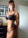 Girl with muscle - Melissa Peters