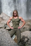 Girl with muscle - Lori Ann Redding