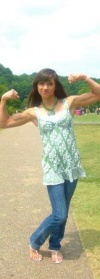 Girl with muscle - Pua Hall