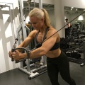 Girl with muscle - Ialina Buckbee