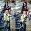 Girl with muscle - Luz Elena Echeverria Molina