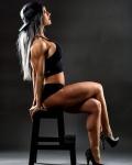 Girl with muscle - Natasha Garder