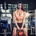 Girl with muscle - Victoria Rotella
