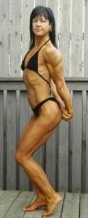 Girl with muscle - Paula Olson