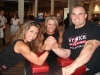 Girl with muscle - Mary Jo Cooke (L),Lisa Bickels (center)