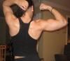 Girl with muscle - powerbarsssssss @ bodyspace
