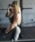 Girl with muscle - Sky Kinz