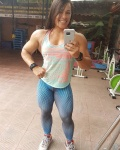 Girl with muscle - Esther Rodriguez Sosa