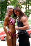 Girl with muscle - Katka Kyptova (right)