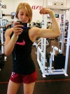Girl with muscle - gymdoll