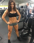 Girl with muscle - Jennifer West