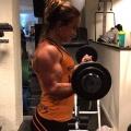 Girl with muscle - melinda lindmark
