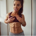 Girl with muscle - Libby Angus