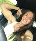 Girl with muscle - Rebecca Hamilton