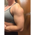 Girl with muscle - janessa hutt