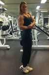 Girl with muscle - Sandra Rodland
